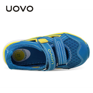 Kids Shoes Summer Sandals Shoes for Boys and Girls Brand Breathable Sneakers for Children High quality Eur Size 27-33#