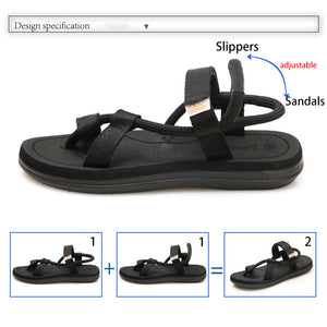 2019 Summer Beach Shoes Men Casual Sandals Gladiator Roman Sandalias Male Shoes Adult Slip-on Flat Flip Flops Zapatos De Hombre