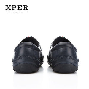 XPER Brand Spring Summer Leather Casual Shoes Men Loafers Fashion Footwear Hole Male Walking Shoes Comfortable Flats #YMD86877NY