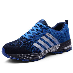 New Stylish Men Couple Casual Shoes Men Flats Outdoor Comfortable Sneakers Mesh Breathable Walking Footwear Sport Trainers
