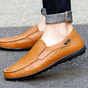Viiikecom men leather shoes mens loafers shoes Luxury brand  Moccasins Moccasin men's  Quality Shoes man shoes leather genuine