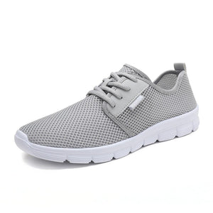 summer men sneakers fashion air mesh breathable casual shoes light weight man moccasins comfortable korean cheap male footwear