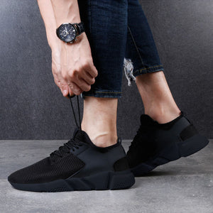 Masorini Mesh Men Sneakers Casual Shoes Men New 2019 Lace-Up Spring Autumn Fashion Breathable Comfortable Male Footwear W-538