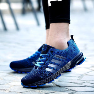2019 Fashion Men Casual Shoes Lace-up Men Mesh Shoes Lightweight Comfortable Breathable Sneakers Sapatos Tenis Feminino Zapatos