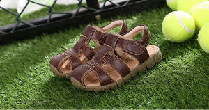 Summer Kids Shoes Brand Closed-Toe Toddler Boys Sandals