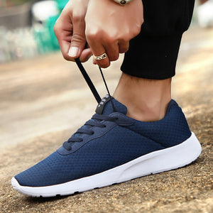 GUDERIAN Plus Size 35-47 Fashion Krasovki Men's Casual Shoes Male Sneakers Lightweight Breathable Shoes Tenis Masculino Adulto