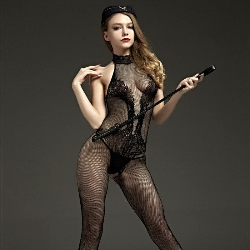 Hot Erotic Crotchless Bodystockings