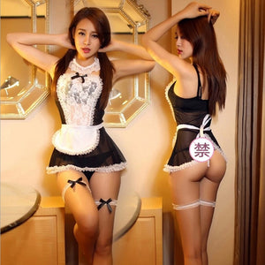 Sexy Maid Costumes Role Play Lingerie