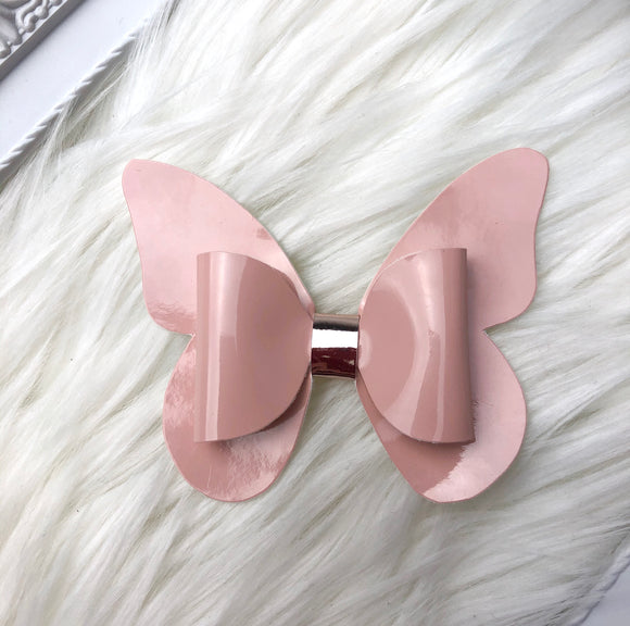 Blush Butterfly Bow