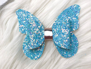 Wonderful Blue Butterfly Bow