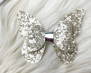 Snow White Butterfly Bow