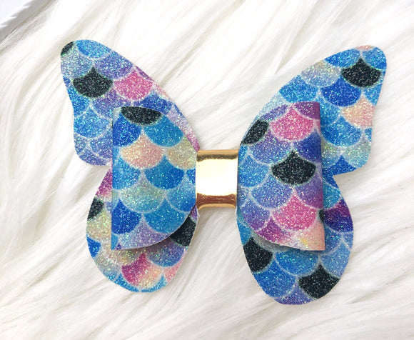 Magical Mermaid Butterfly Bow