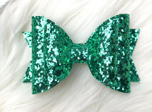 Pale Green Bow