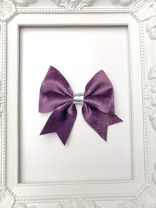 Perfect Purple Sailor Bow