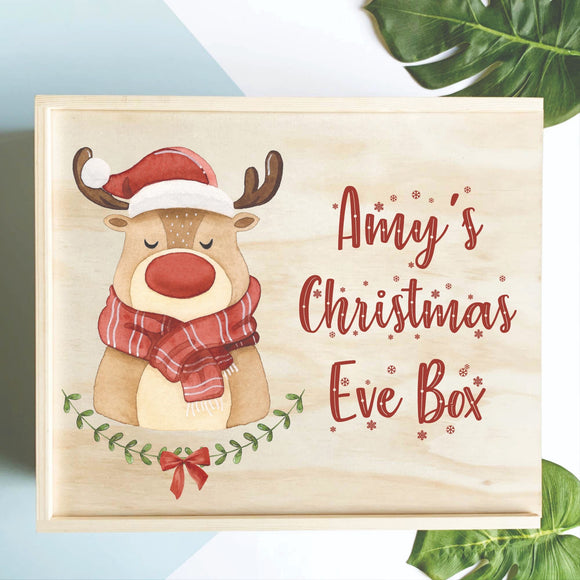 Reindeer Christmas Eve Box