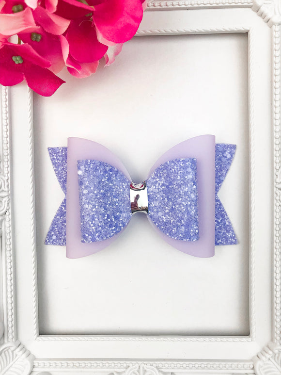Lilac Jelly Bow