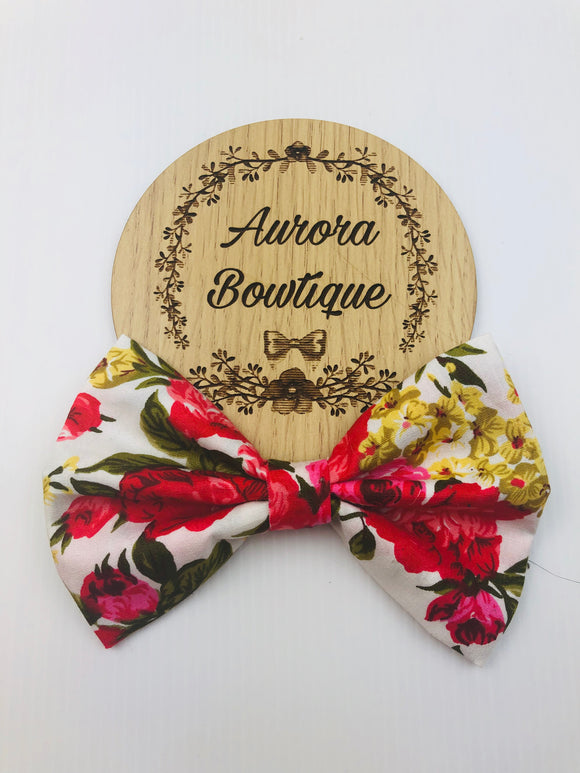 Evanthe Floral Bow