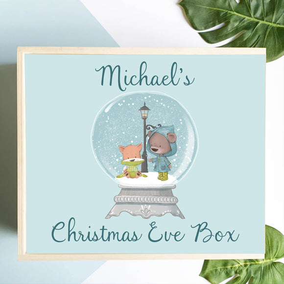 Snow Globe Christmas Eve Box