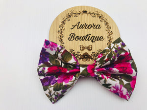 Sofie Floral Bow