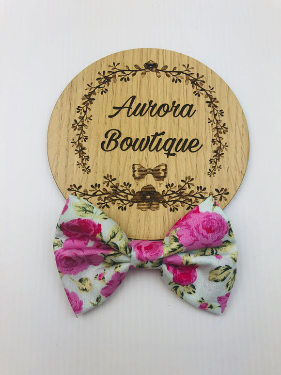 Ivy Floral Bow