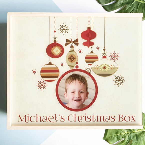 Baubles Christmas Box