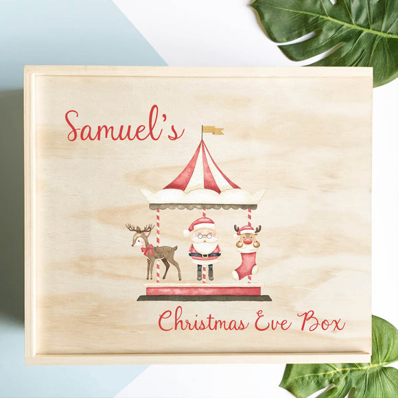 Carousel Christmas Eve Box
