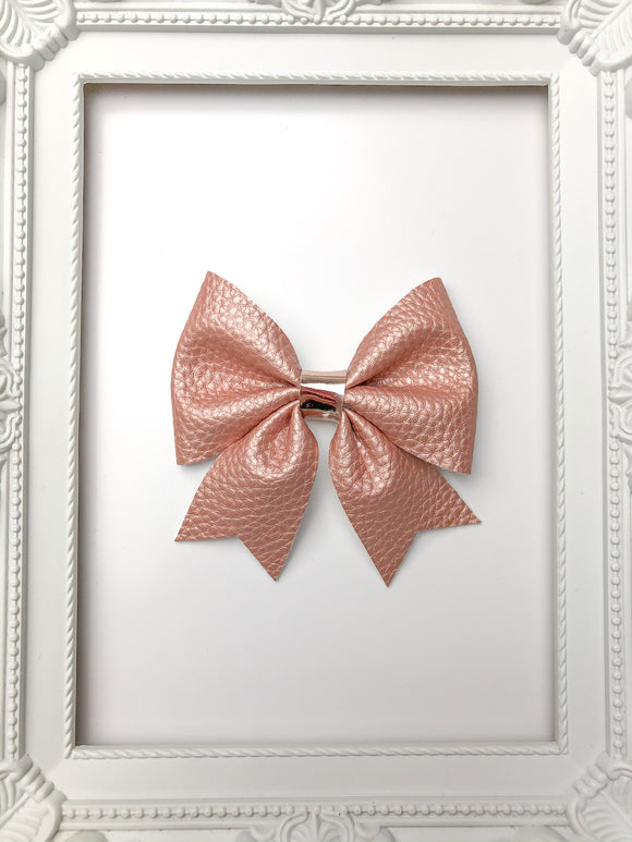 Rose Gold Sailor Bow