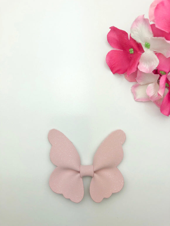 Strawberry Butterfly Pinch Bow