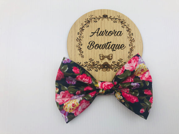 Piper Floral Bow