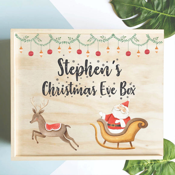Santa Sleigh Christmas Eve Box