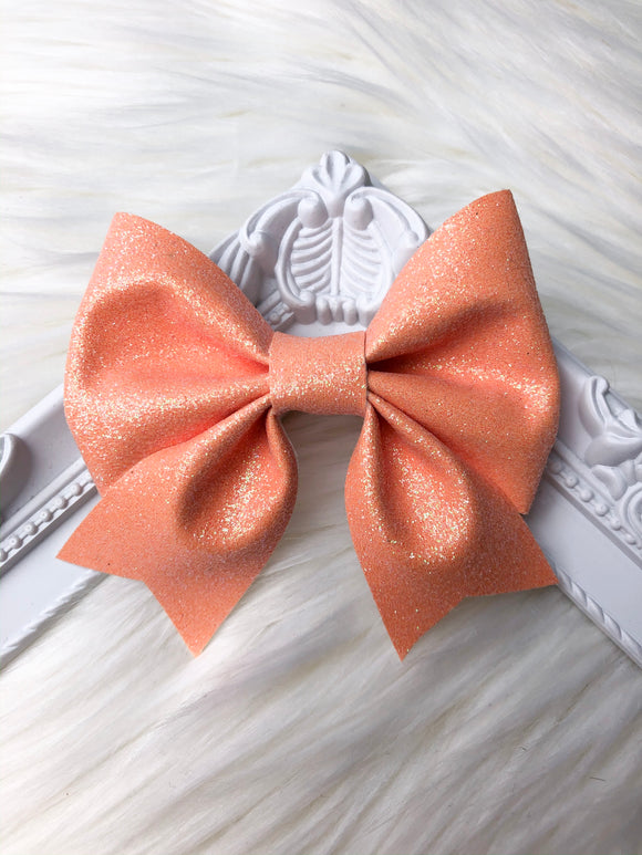 Apricot Sailor Bow