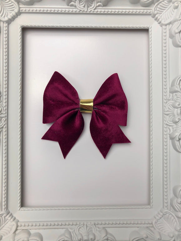 Wine Sailor Bow