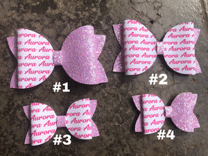 Personalised Name Bows - PRE ORDER