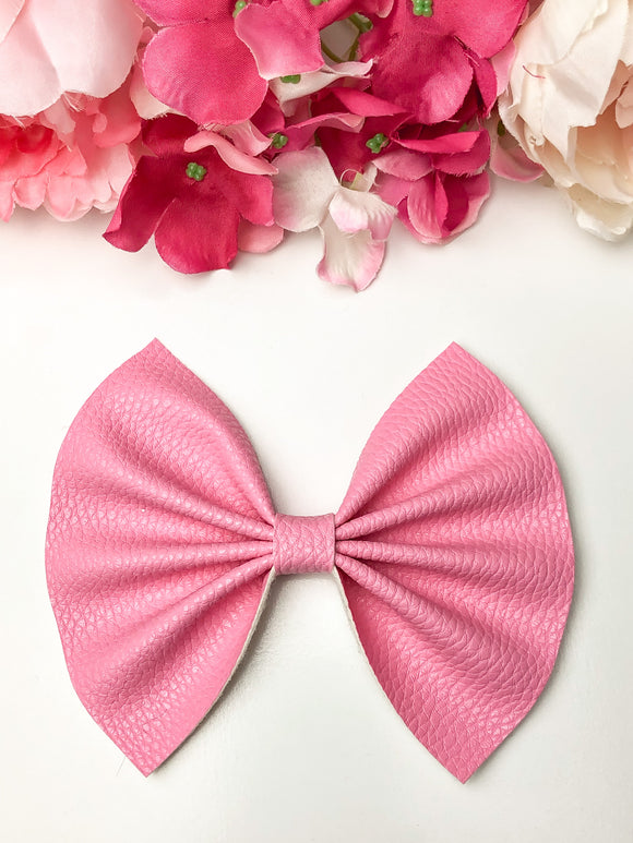 Sweet Pink Large Bow