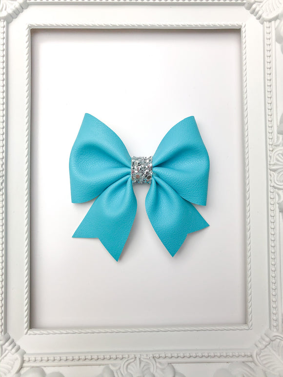Tornado Blue Sailor Bow
