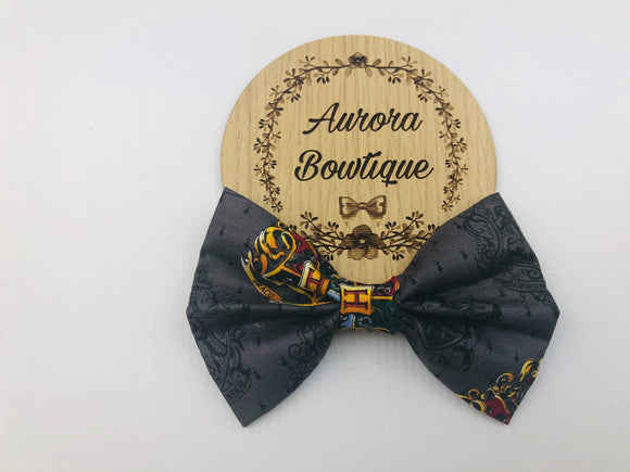 Harry Potter Crest Bow