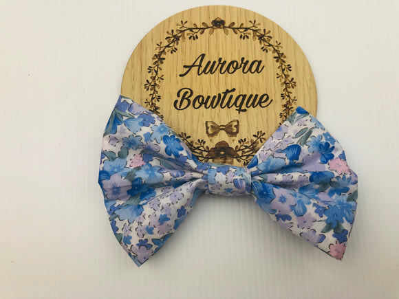 London Floral Bow