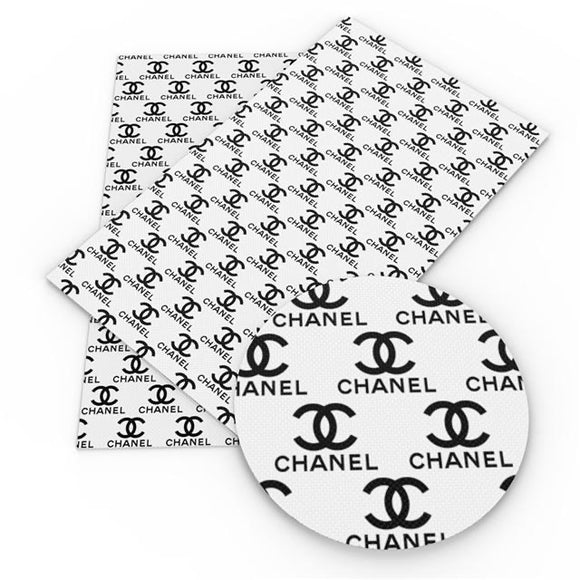 PRE ORDER black & white Chanel inspired bow