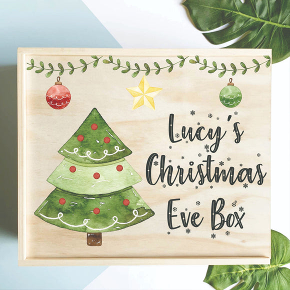 Christmas Tree Christmas Eve Box
