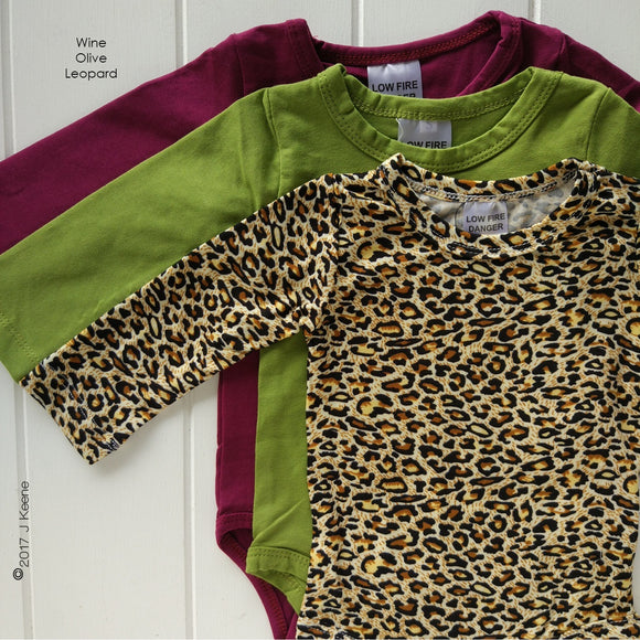 Leopard Long Sleeve Bodysuit