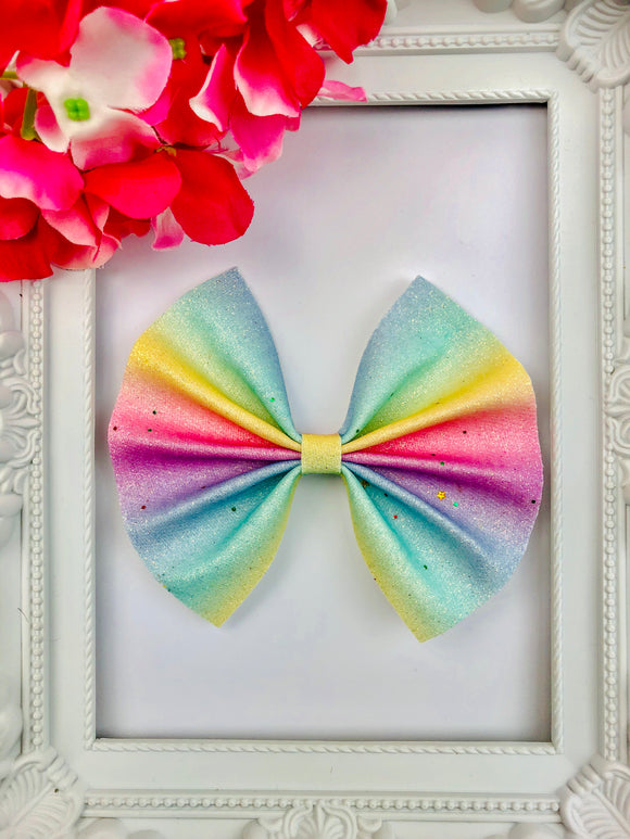 Rainbow Star Bow