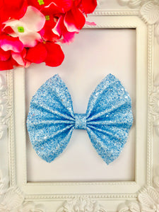 Frosted Blueberry Bow