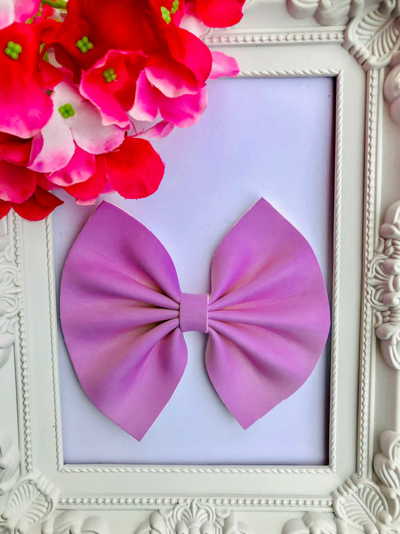 Uv Purple Large Bow