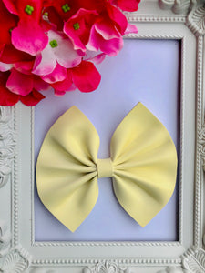 Uv Yellow Large Bow