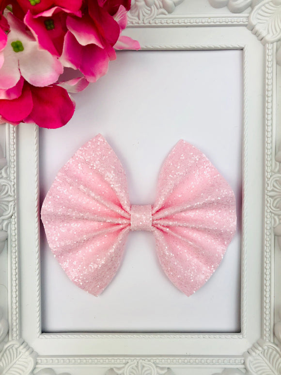 PRE ORDER Pale Cotton Candy Bow