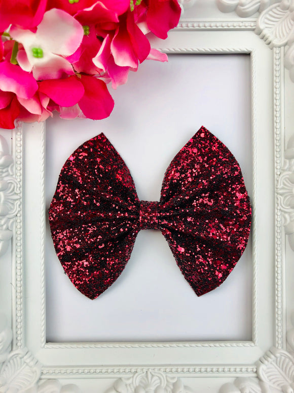 Dark Wine Bow