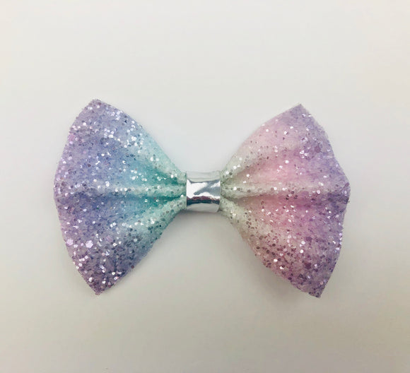 Pastel Unicorn Bow