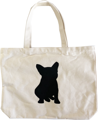 the ultimate frenchie tote bag