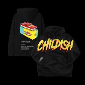 Limited Edition Black Childish Hoodie