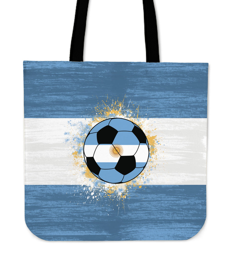 Argentina Soccer Tote Bag - CRE8Custom